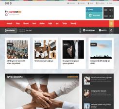 Haber Teması v3 Wordpress Teması - Tema Fabrika