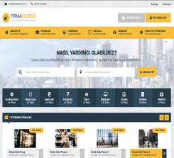 Firma Rehberi 3 Wordpress Teması- Tema Fabrika