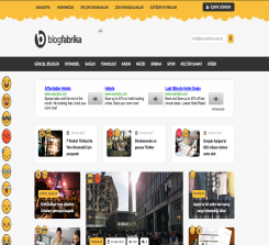 Blog – Portal Teması - Tema Fabrika